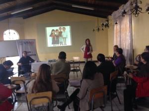 """Técnicos del proyecto brindan información sobre el componente """"Educación para el empleo y aprendizaje para la vida"""""""