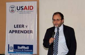 Fernando Rubio, director del proyecto USAID Leer y Aprender.